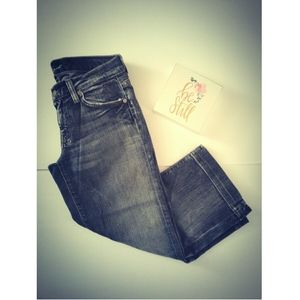 •7 For All Mankind• Jean Capris